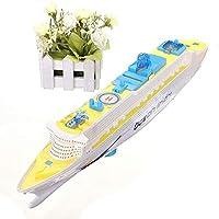 ミニ 船 電動玩具 軍艦模型 電動玩具 LEDライト キッドギフト