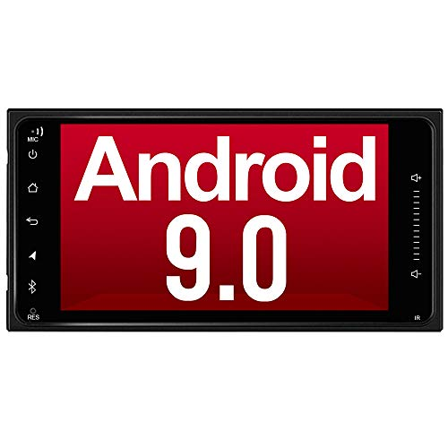 KURATU Android カーナビ トヨタ専用ナビ QC3.0急速充電搭載 2DIN Android 9.0 カーナビ 2GB+32GB Bluetooth Wi-Fi カーナビゲーション マルチウィンドウ ミラーリング