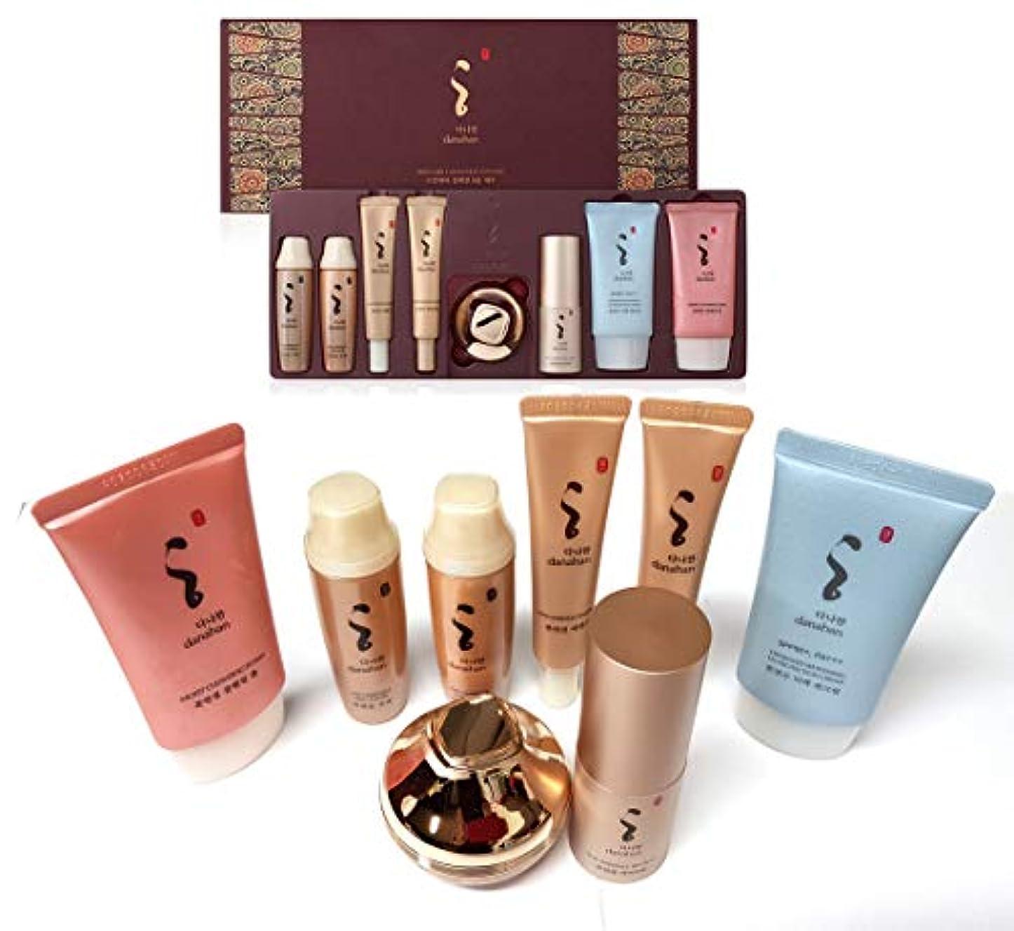 許容ポット国民投票[DANAHAN] スキンケアコレクションギフト8本セット/ Skin Care Collection gift 8pcs set/モイスチャー、ハーバルフルイド/Moisture, herbal fluidn/韓国化粧品...