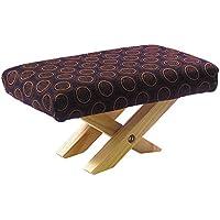 アルファックス 仏前用椅子 木目 23.5x15x13cm らくらく正座椅子(巾着付) 902232