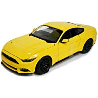 2015 Ford Mustang Yellow 1/18 Maisto DIECAST MODEL [並行輸入品]