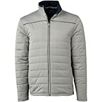 Tommy Hilfiger Mens Cordell Quilted Jacket X-Large Grey