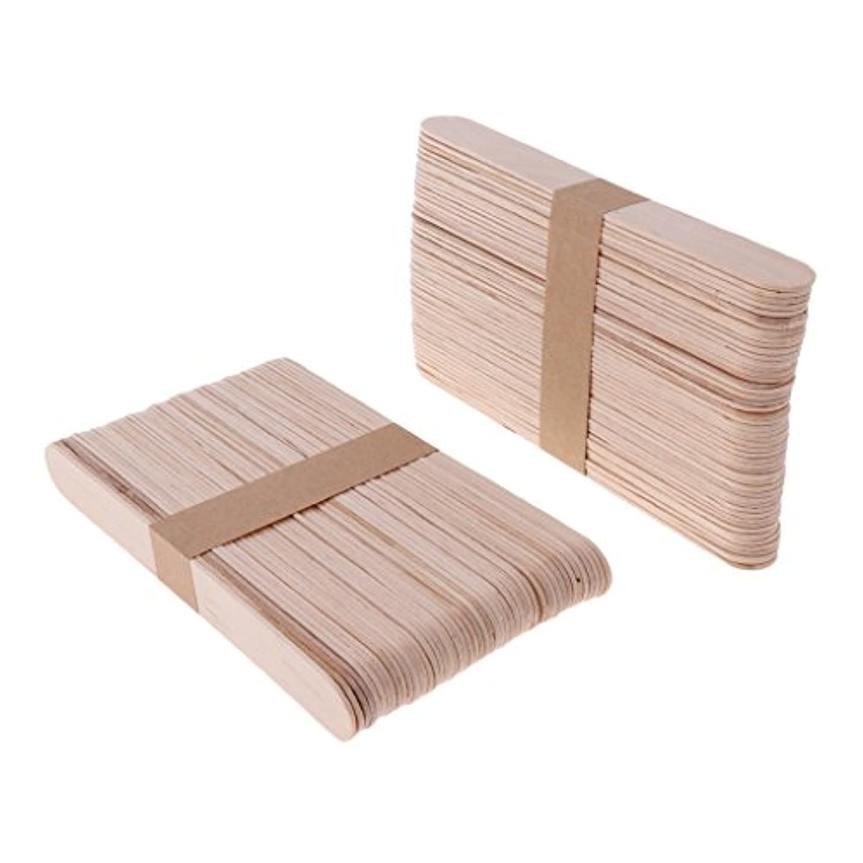 判定かなり嵐の木材スティック 脱毛 ワックス用 体毛除去 自宅用 美容院 200個入り 2サイズ選べる - L