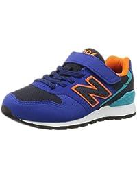 [ニューバランス] キッズシューズ YV996 17~24cm レッド・ブルー・イエローなど 運動靴 通学履き 男の子 女の子