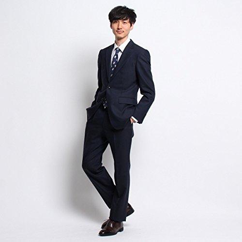 タケオキクチ(TAKEO KIKUCHI) 【PNJ】楊柳紋柄シングルスーツ[メンズ スーツ ウール]
