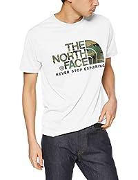[ザノースフェイス] Tシャツ ショートスリーブカモフラージュロゴティー メンズ