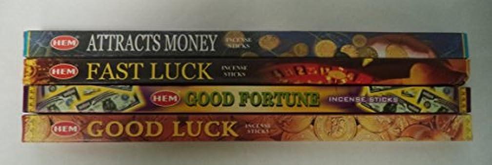 本バンクコアAttract Money Incense Stick Set : 32 sticks for富と繁栄