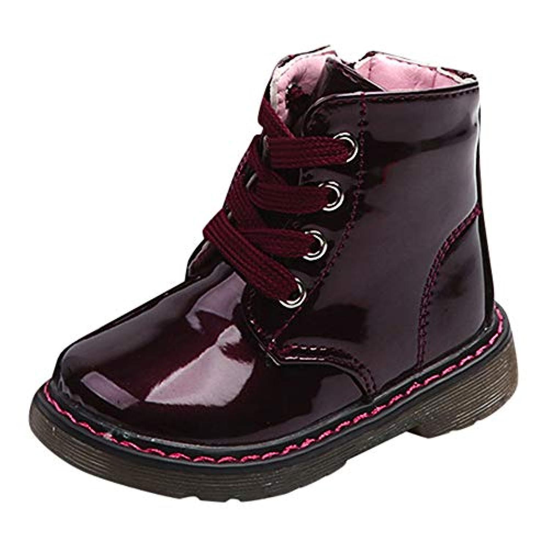 秋冬 子供靴 男の子 女の子 ブーツ イギリス風 男の子 ブーツ マーティン ブーツ スノーブーツ おしゃれ かっこいい靴 可愛い 履き心地いい 13-17.5cm(12-6歳)