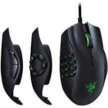 Razer Naga Trinity Multi-Color Wired MMO Gaming Mouse, Black (RZ01-02410100-R3M1)