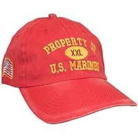 Military HAT メンズ US サイズ: Medium カラー: レッド