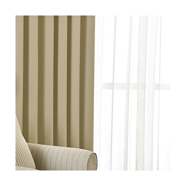 NICETOWN 遮光カーテン 2枚セット ナ...の紹介画像4