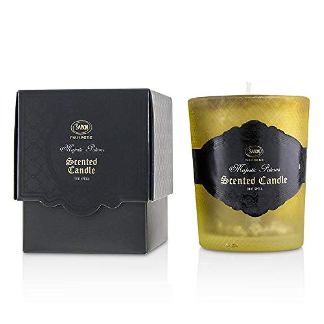 聖歌咽頭ゆりサボン Luxury Glass Candle - The Spell 150ml/5oz並行輸入品