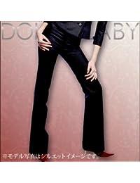 (ドルチェルビ) DOLCE LABY レディース スーツ セミローライズフレアパンツ 生地:6.ブラック 無地(M27219/TK)