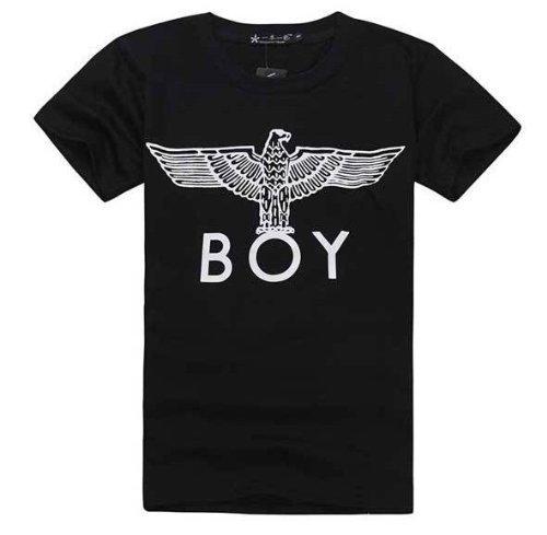 BIGBANG GD同型ジヨン BOYLONDON BOY イーグル Tシャツ BK 黒 Mサイズ