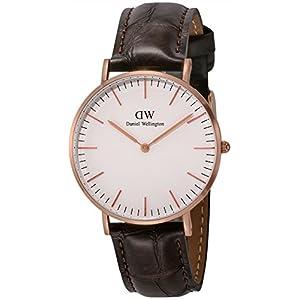[ダニエル・ウェリントン]Daniel Wellington 腕時計 Classic York ホワイト文字盤 DW00100038 【並行輸入品】
