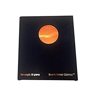 タイ発 テレビでも話題の 「ゾウが作る最高級のコーヒー」  コーヒー豆35g ブラック・アイボリー(Black Ivory)海外直送品
