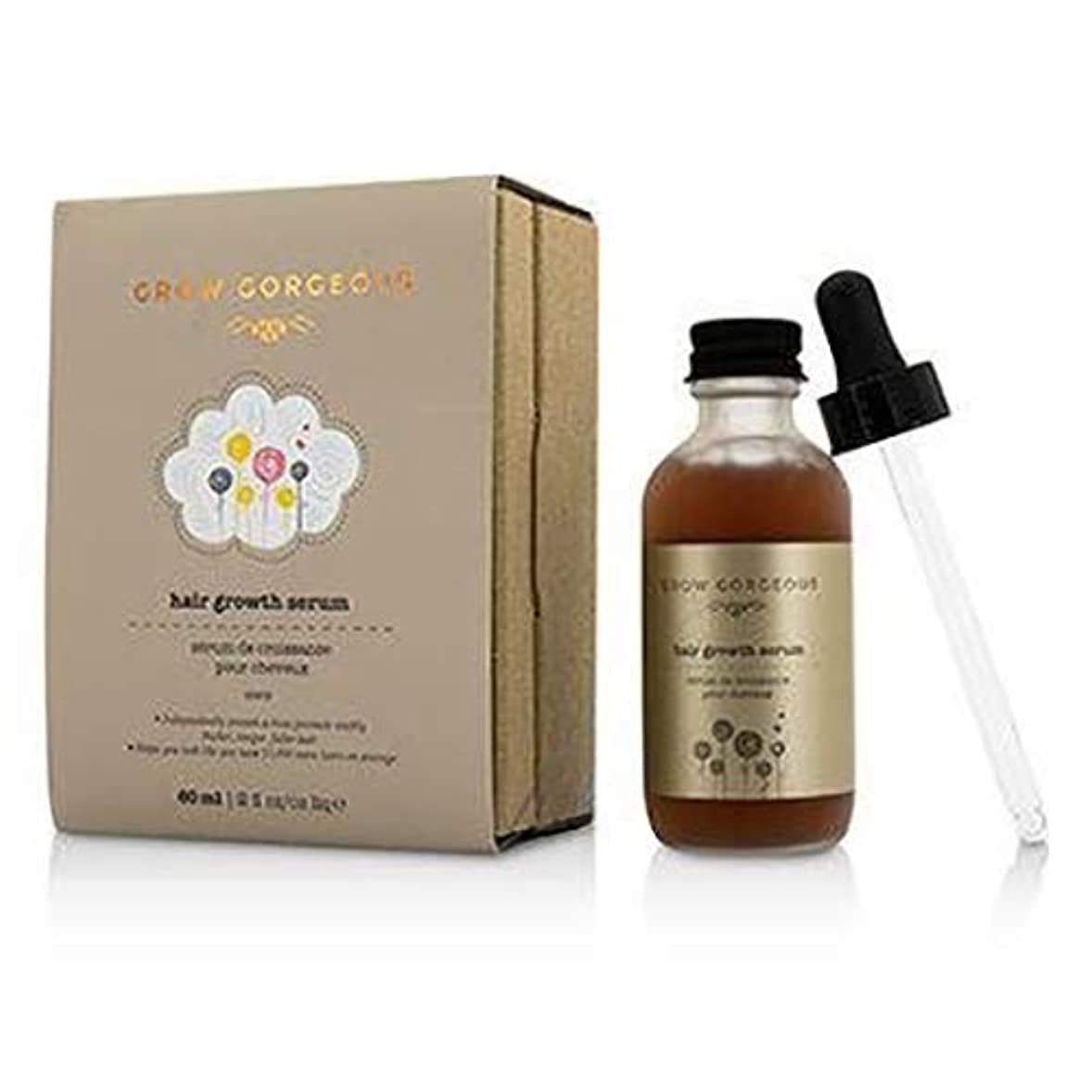 凍結デモンストレーション吸収剤Grow Gorgeous Hair Growth Serum 60ml/2oz