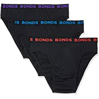 Bonds Men's Underwear Hipster Brief (3 pack)