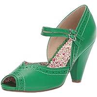 Bettie Page Women's BP403-NELLIE Shoe