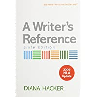 A Writer's Reference With 2009 Mla Update + E-Book and Online Tutorials