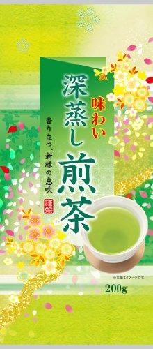 小野園 味わい深蒸し煎茶 200g×2