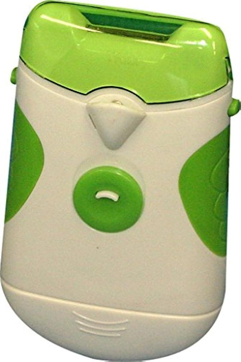 手つかずの頻繁にバッグ切るから削る LEDライト付 新感覚 電動 爪きり (爪切り)