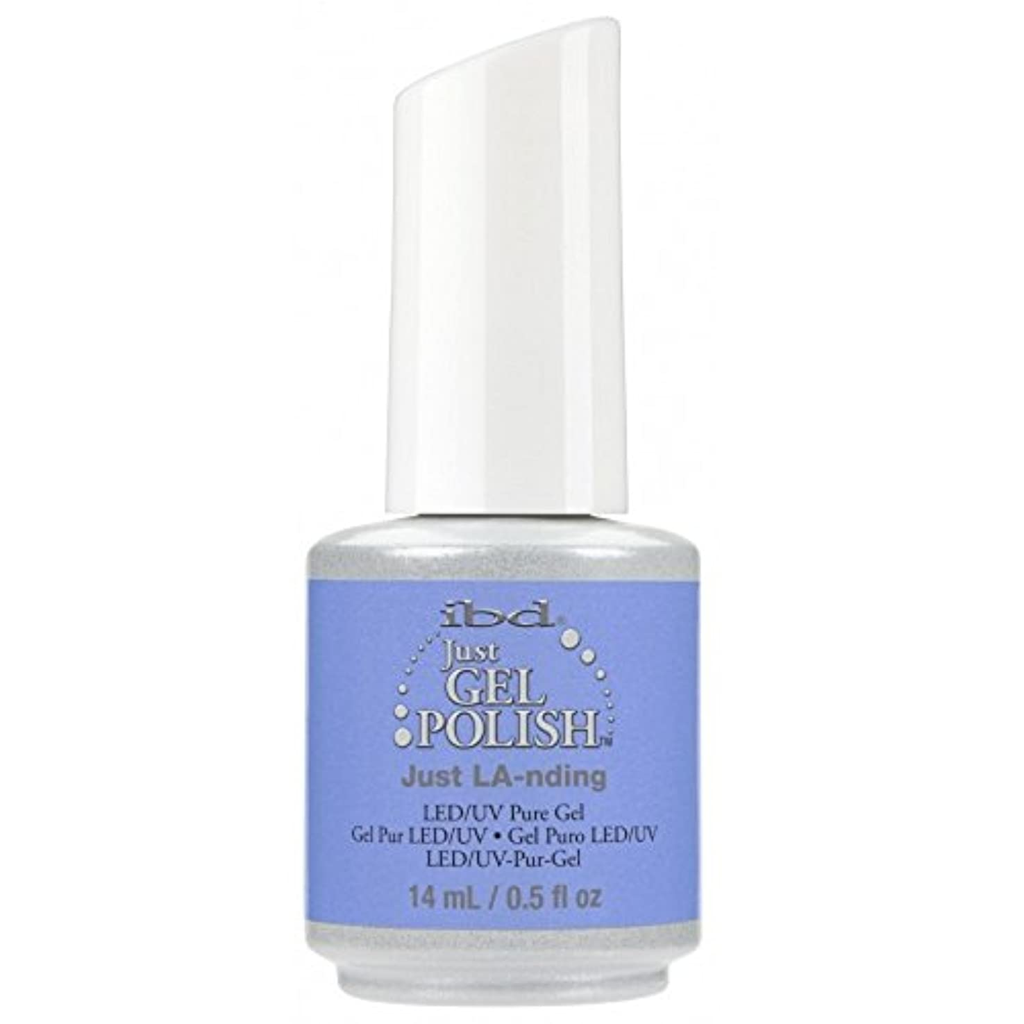 おなじみの人種早めるibd Just Gel Nail Polish - Summer 2017 Destination Colour Collection - Just LA-nding - 14ml / 0.5oz