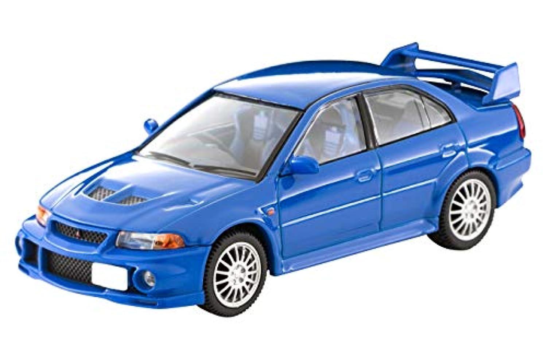 トミカリミテッドヴィンテージ ネオ 1/64 LV-N190a 三菱 ランサーGSRエボリューションVI 青 (メーカー初回受注限定生産) 完成品