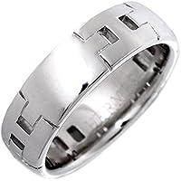 [エルメス]HERMES K18WG ヘラクレスリング 指輪 #49(8.5号) 中古