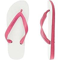 Havaianas Tradicional Thongs Pink/White
