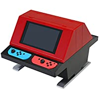 (Switch用) 対面型アーケードスタンド (レッド) - Switch