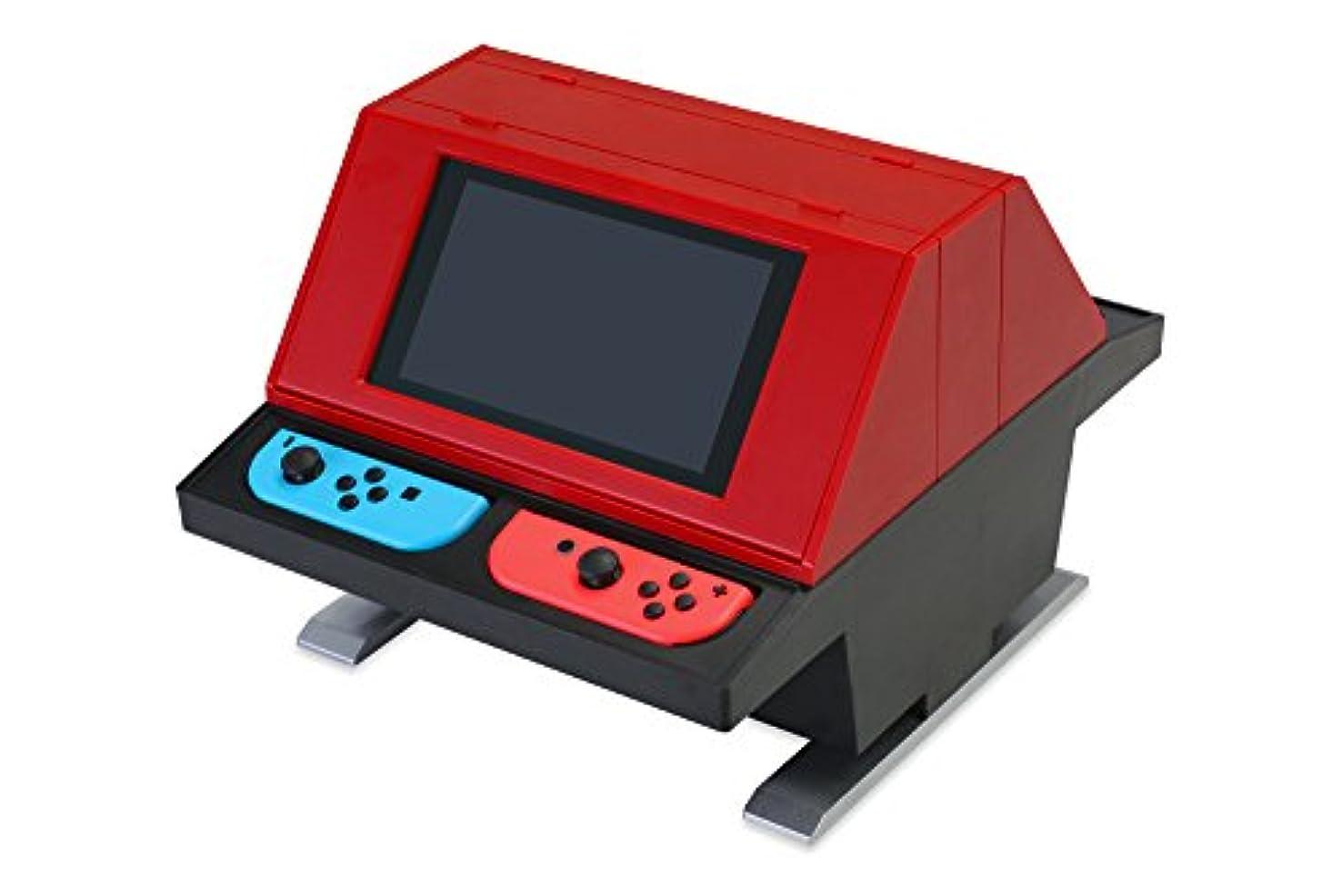 忍耐引き渡す周術期(Switch用) 対面型アーケードスタンド (レッド) - Switch