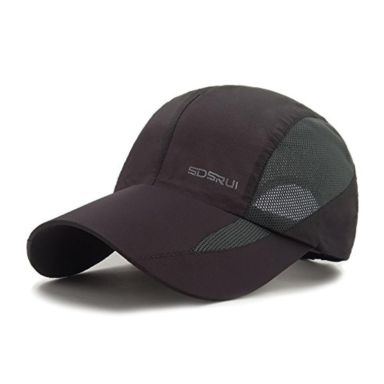 LETHMIKスポーツキャップ夏速乾性サンハットユニセックスUV保護アウトドアキャップ