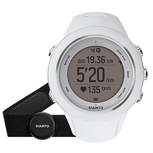 SUUNTO AMBIT SPORT HR SAPPHIRE (スント スパルタン スポーツ HR サファイア「) トライアスロンウォッチ GPS 防水 心拍計 [日本正規品] SS020680000 ホワイト