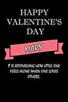 happy valentine's day  Mary Quote: composition notebook :valentine's day gift for an happy valentine day gratitude your lover