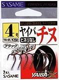 ささめ針(SASAME) XT-05 ヤイバチヌ (ブラック) 2号