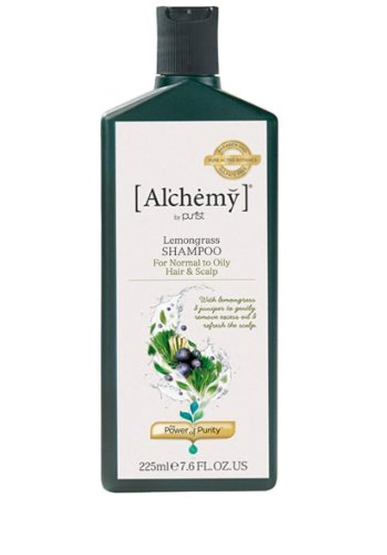 質素なバンクどきどき【Al'chemy(alchemy)】アルケミー レモングラスシャンプー(Lemongrass Shampoo)(オイリー髪用)225ml