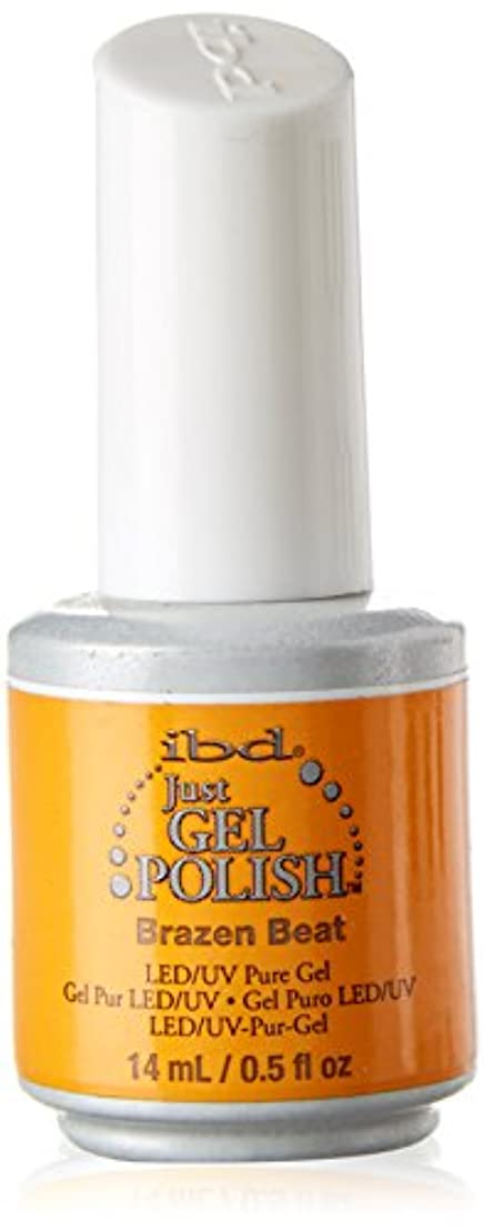 適度にスキップはっきりしないibd Just Gel Nail Polish - Brazen Beat - 14ml / 0.5oz