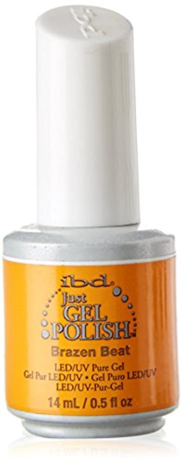 アシスタントペース全能ibd Just Gel Nail Polish - Brazen Beat - 14ml / 0.5oz