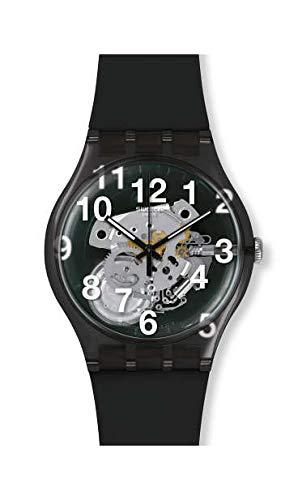 [スウォッチ]SWATCH 腕時計 BLACK BOARD ブラックボード New Gent ニュージェント LISTEN TO ME SUOK135 【正規輸入品】