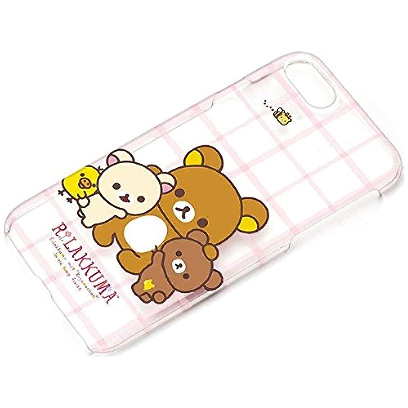 エスニックバランス少ないiPhone7ケース サンエックス クリアケース リラックマ  YY01601