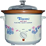 Toyomi HH 5500A High Heat Slow Cooker, 4.7L White