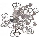 Hillrong キラキラ ゴールド 紙吹雪 ハートデザイン ルビー コンサート イベント 舞台 誕生日パーティー 結婚式 プロ用(30g包装)(6)