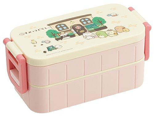 スケーター 2段 ランチボックス 600ml 弁当箱 喫茶すみっコ すみっコぐらし サンエックス 日本製 YZW3