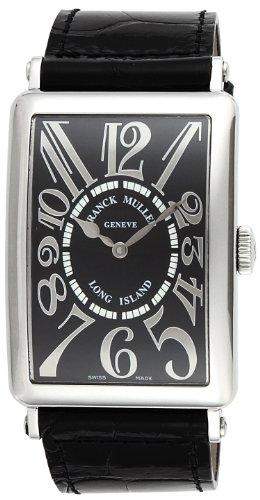 [フランクミュラー]FRANCK MULLER 腕時計 ロングアイランド ブラック文字盤 自動巻 クロコ革ベルト 1200SCRELBLK メンズ 【並行輸入品】