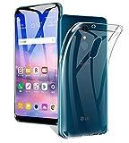 LG Q Stylus ケース A-VIDET 透明度高い・デザインを損なわない可能・装着やすい・クリスタル ソフト・TPU素材製 LG Q Stylusケース LG Q Stylus スマートフォン対応 (クリア)