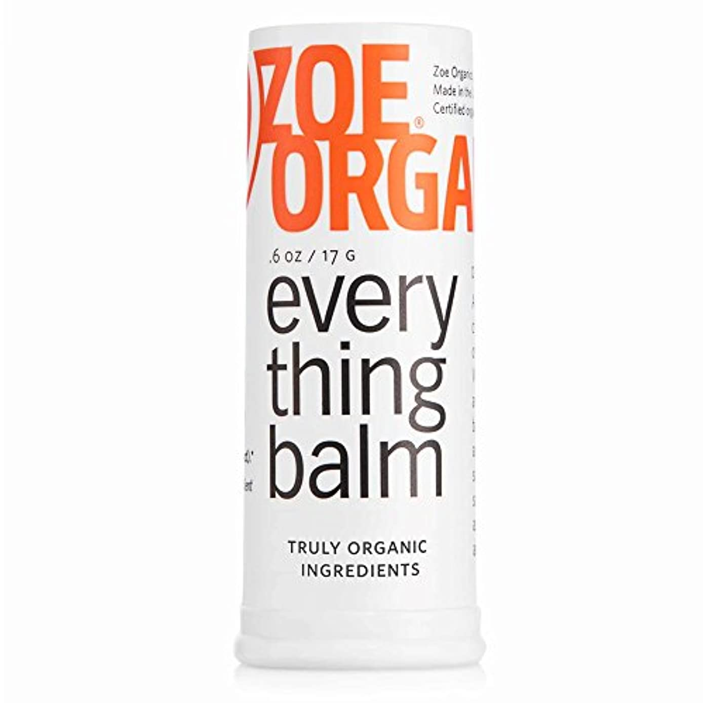 ロデオ反響する規制するEverything Balm - .6 oz., 100% organic by Zoe Organics