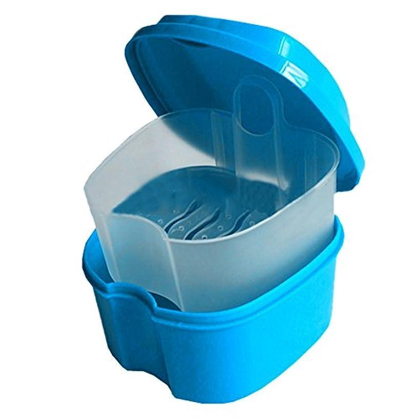 雪だるま検出するシャイニングAMAA 入れ歯ケース リテーナーボックス マウスピース収納