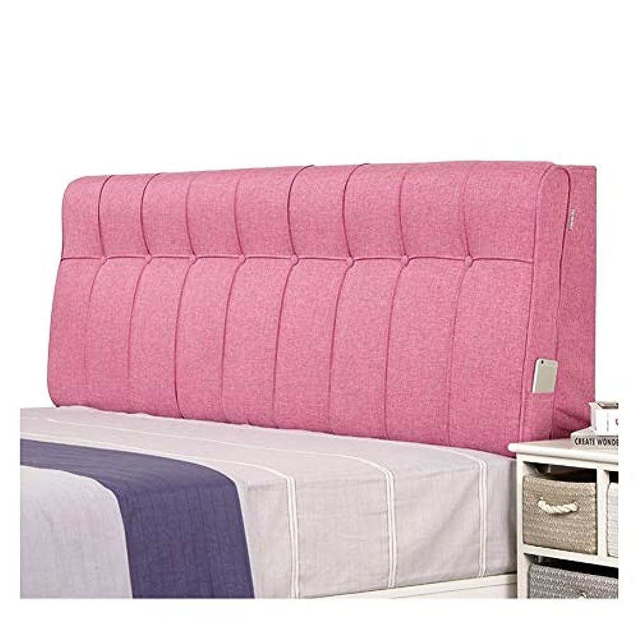 簿記係彼のピルファーLIANGLIANG クションベッドの背もたれ 寝室 ベッド デコレーション 多目的 サポート バック ネック、 洗える (Color : Brown, Size : 180cm)