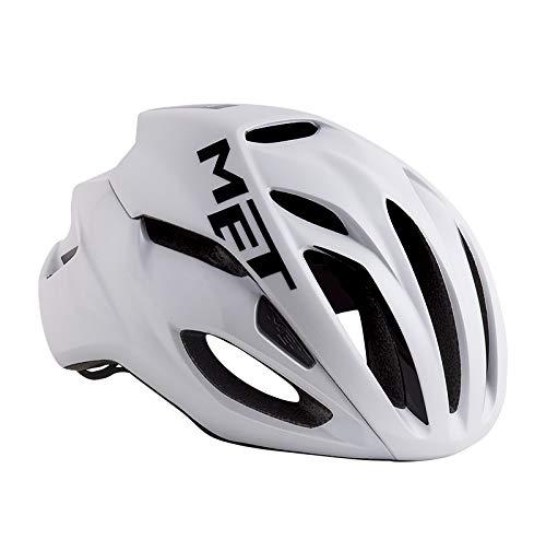 メット リヴァーレ HES ホワイト ヘルメット M(54/58cm)